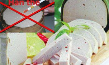 Các loại hóa chất có trong thực phẩm đe dọa đến sức khỏe chúng ta