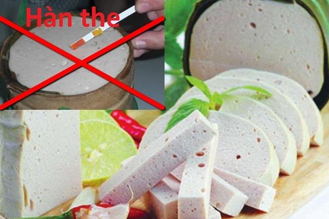 Chả giò là một trong những thực phẩm dễ chứa hàn the nhất