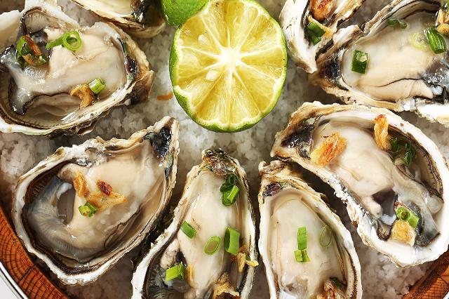 Hàu là hải sản chứa nhiều chất kẽm