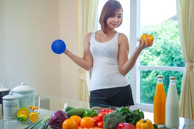 Thể dục và chế độ ăn là yếu tố quyết định sức khỏe của bạn