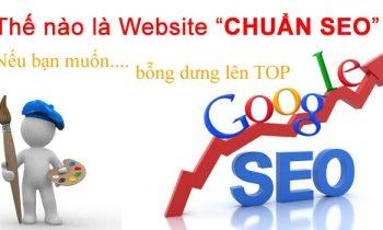 Cách nhận biết website thiết kế chuẩn SEO